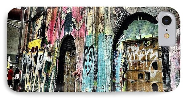 Williamsburg Graffiti IPhone Case by Natasha Marco