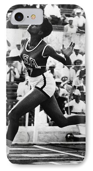 Wilma Rudolph (1940-1994) Phone Case by Granger