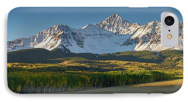 IPhone Case featuring the photograph Wilson Peak Panorama by Aaron Spong