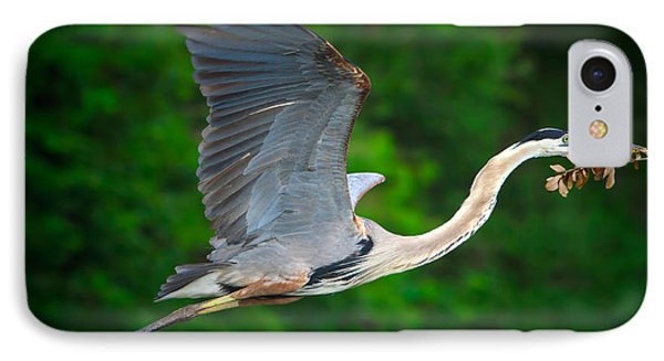 Wings Of Blue IPhone Case by Mark Andrew Thomas