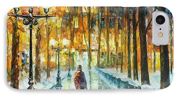 Winter Light  Phone Case by Leonid Afremov