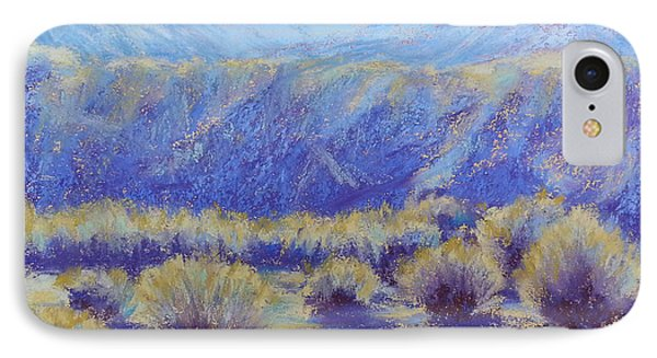 Winter Morning Riverbend IPhone Case by Becky Chappell
