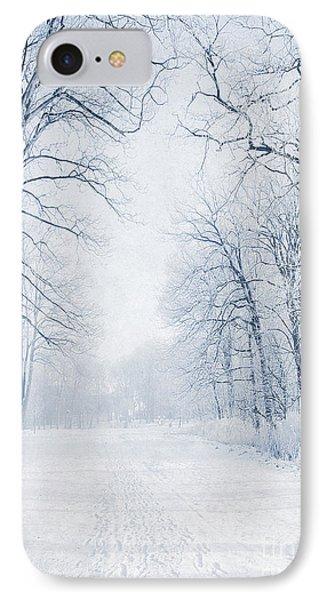 Winter Path IPhone Case by Svetlana Sewell