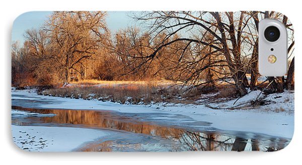 Winter River IPhone Case by Marek Uliasz