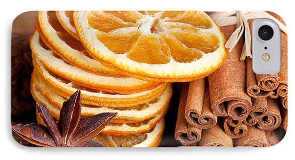 Winter Spices IPhone Case by Nailia Schwarz