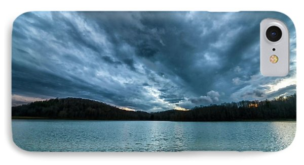 IPhone Case featuring the photograph Winter Storm Clouds by Thomas R Fletcher