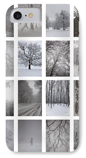 Winter Time Phone Case by Gabriela Insuratelu