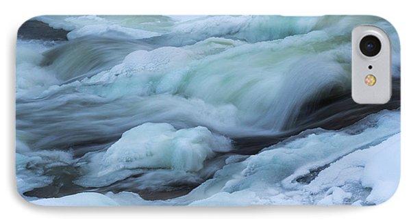 Winter Waterfall IPhone Case by Tamara Sushko