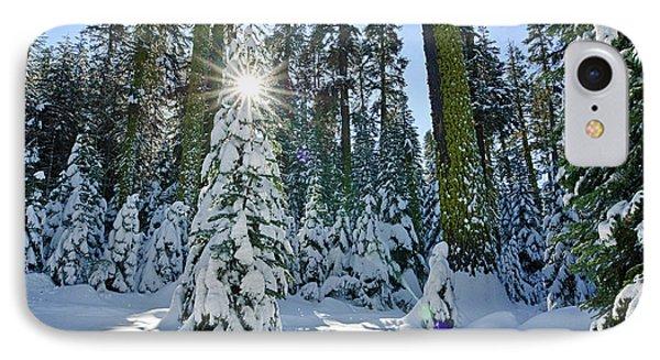 Winter Wonderland IPhone Case by Jamie Pham