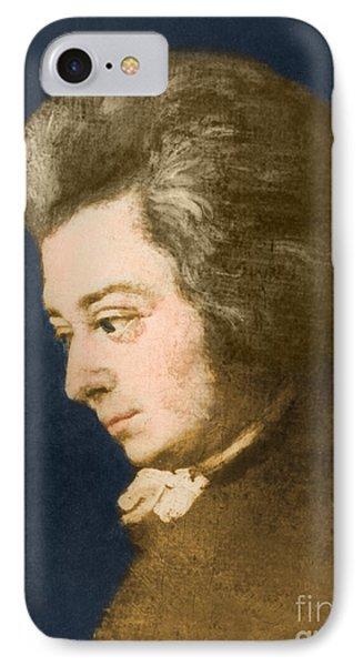Wolfgang Amadeus Mozart, Austrian IPhone Case by Omikron