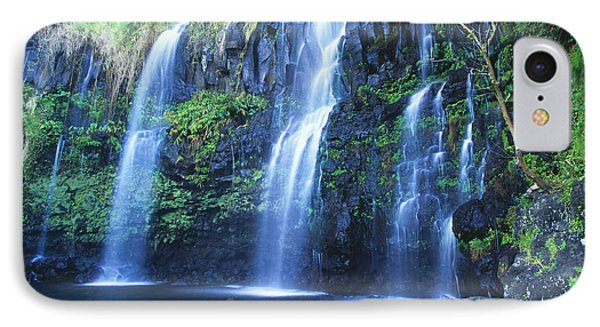 Woman At Waterfall Phone Case by Dave Fleetham - Printscapes