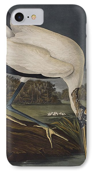 Wood Ibis IPhone Case by John James Audubon