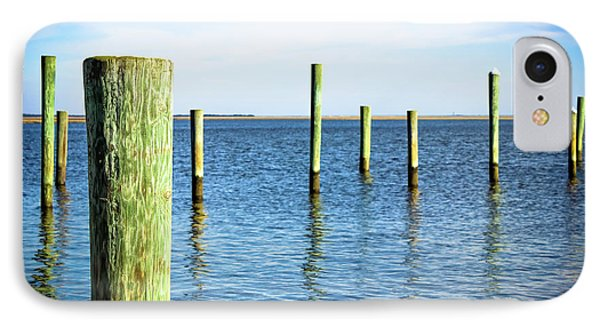 IPhone Case featuring the photograph Wood Pilings by Colleen Kammerer
