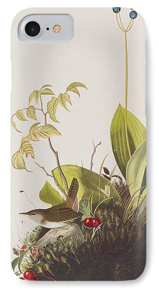 Wood Wren IPhone 7 Case by John James Audubon