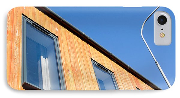 Wooden Building IPhone Case by Tom Gowanlock