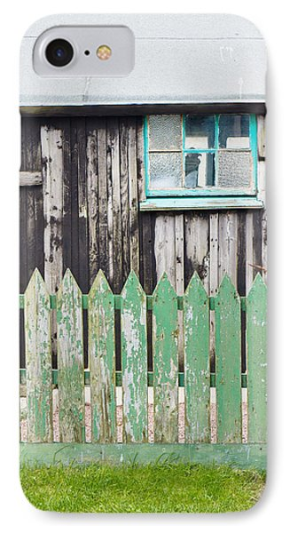 Wooden Shed IPhone Case