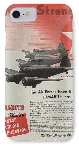 World War II Advertisement IPhone Case by American School