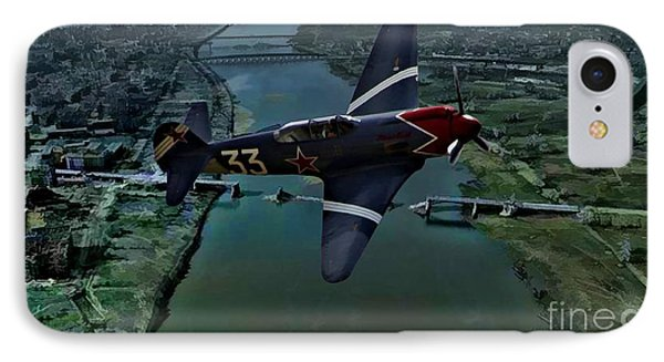 Yakovlek Yak 18 - Oil IPhone Case by Tommy Anderson