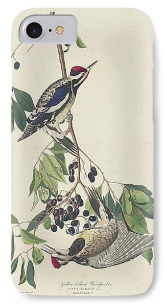 Yellow-bellied Woodpecker IPhone 7 Case by Anton Oreshkin