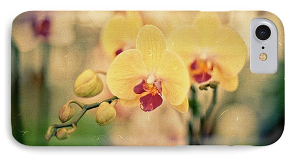 IPhone Case featuring the photograph Yellow Orchids by Ana V Ramirez