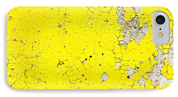Yellow Paint IPhone Case by Tom Gowanlock