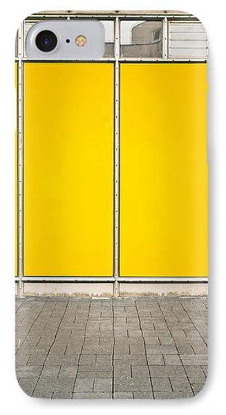 Yellow Panels IPhone Case by Tom Gowanlock
