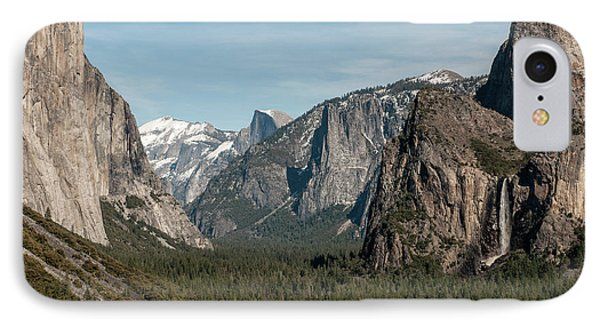 IPhone Case featuring the photograph Yosemite Valley Afternoon by Sandra Bronstein