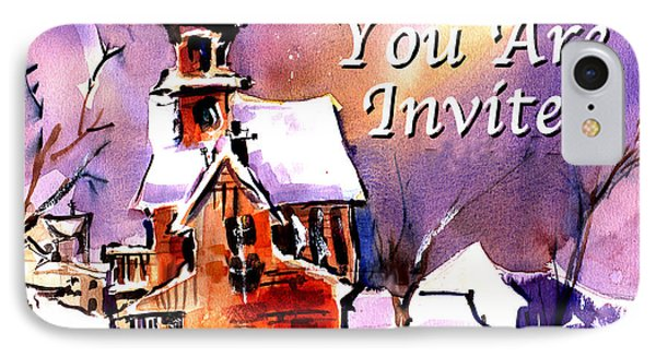 You Are Invited IPhone Case