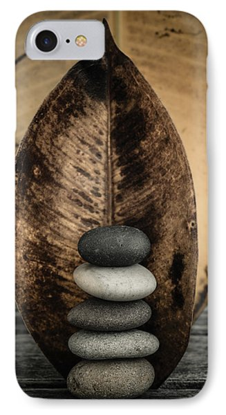 Zen Stones II IPhone Case by Marco Oliveira