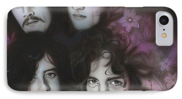 Led Zeppelin - ' Zeppelin ' IPhone 7 Case by Christian Chapman Art
