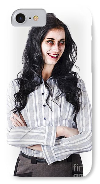 Zombie Businesswoman IPhone Case