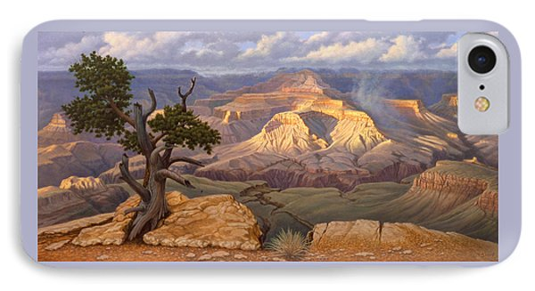Zoroaster Temple From Yaki Point IPhone 7 Case by Paul Krapf