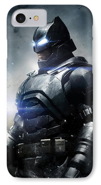 Batman V Superman Dawn Of Justice 2016  IPhone Case by Unknown