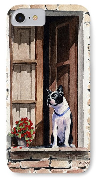 Boston Terrier IPhone Case by David Rogers