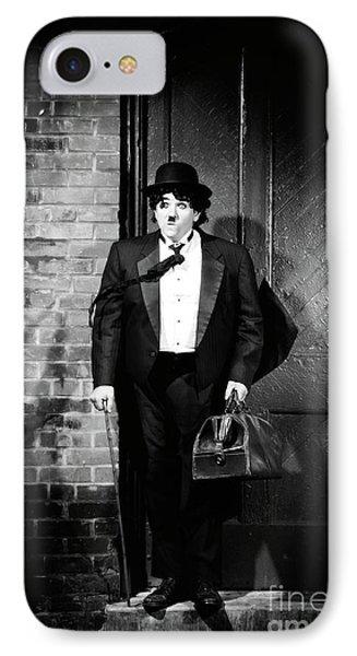 Charlie Chaplin Phone Case by Oleksiy Maksymenko