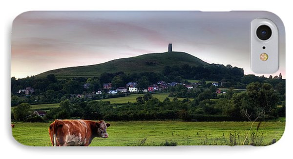 Glastonbury Tor - England IPhone Case