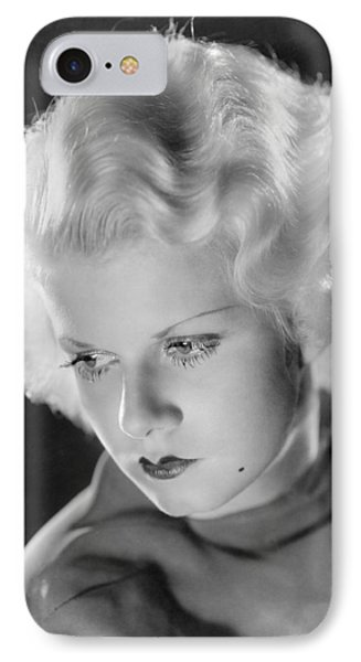 Jean Harlow (1911-1937) IPhone Case