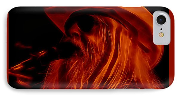 Leon Russell Collection IPhone Case by Marvin Blaine