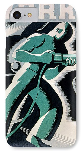 New Deal: Wpa Poster Phone Case by Granger