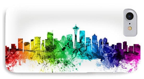 Seattle Washington Skyline IPhone 7 Case