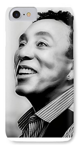 Smokey Robinson Collection IPhone Case by Marvin Blaine