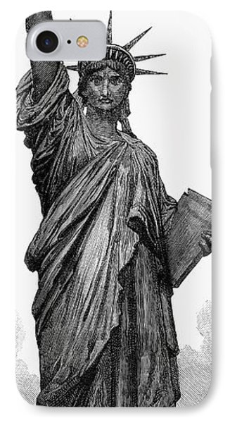 Statue Of Liberty Phone Case by Granger