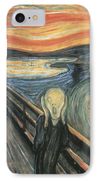 The Scream IPhone Case by Edvard Munch