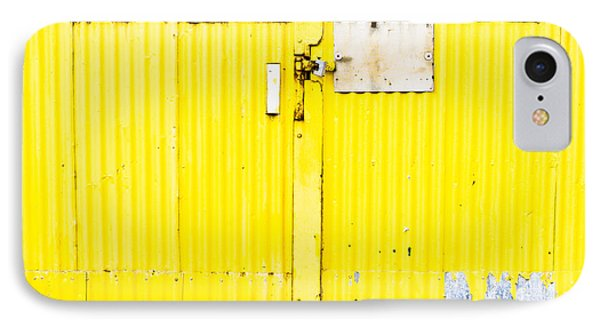Yellow Metal  IPhone Case by Tom Gowanlock
