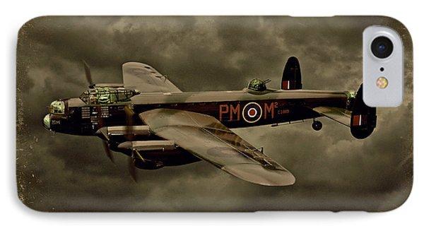 103 Squadron Avro Lancaster Phone Case by Steven Agius