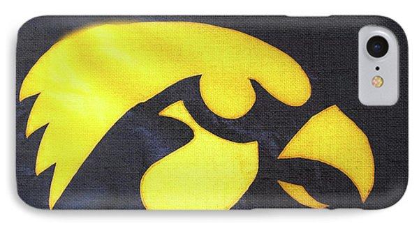 10724  Iowa Hawkeye IPhone Case