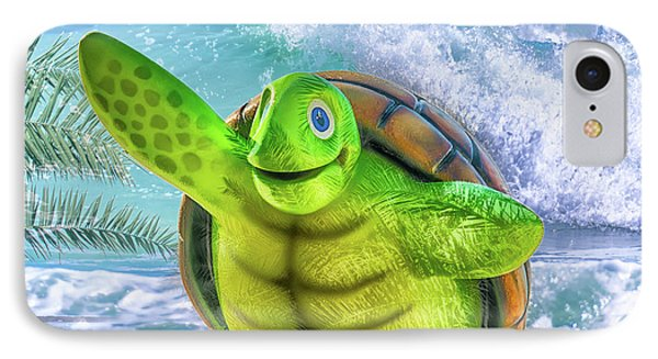 10731 Myrtle The Turtle IPhone Case