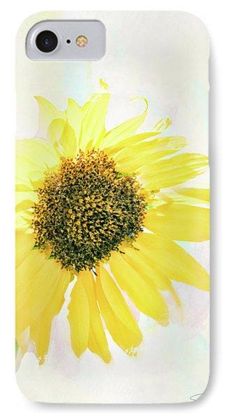 10845 Sunflower IPhone Case by Pamela Williams