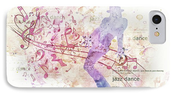 10849 All That Jazz IPhone Case