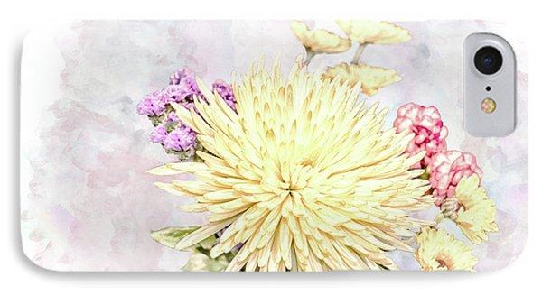 10865 Spring Bouquet IPhone Case